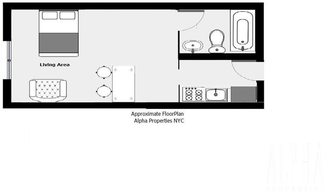 Studio, Gramercy Park Rental in NYC for $1,950 - Photo 2