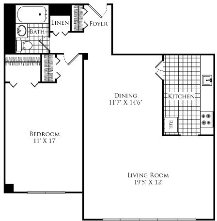 1 Bedroom, Neighborhood Nine Rental in Boston, MA for $2,480 - Photo 1