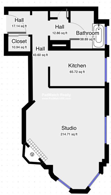 Studio, Back Bay West Rental in Boston, MA for $1,800 - Photo 1
