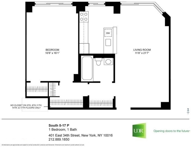 1 Bedroom, Murray Hill Rental in NYC for $3,497 - Photo 2