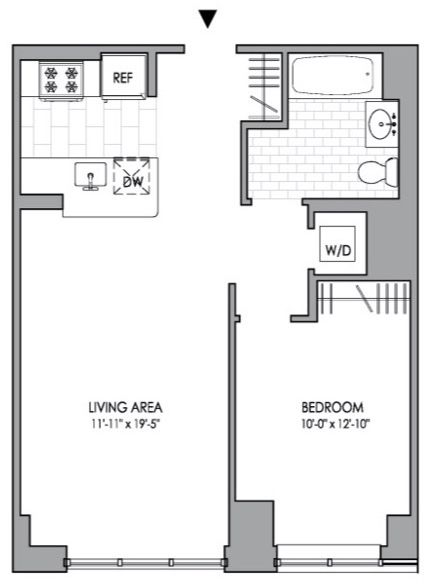 1 Bedroom, Hell's Kitchen Rental in NYC for $3,596 - Photo 2