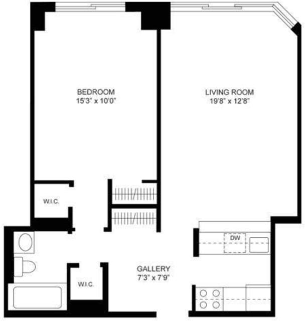 1 Bedroom, Kips Bay Rental in NYC for $3,000 - Photo 2