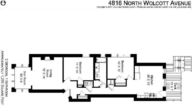 2 Bedrooms, Ravenswood Rental in Chicago, IL for $2,250 - Photo 2