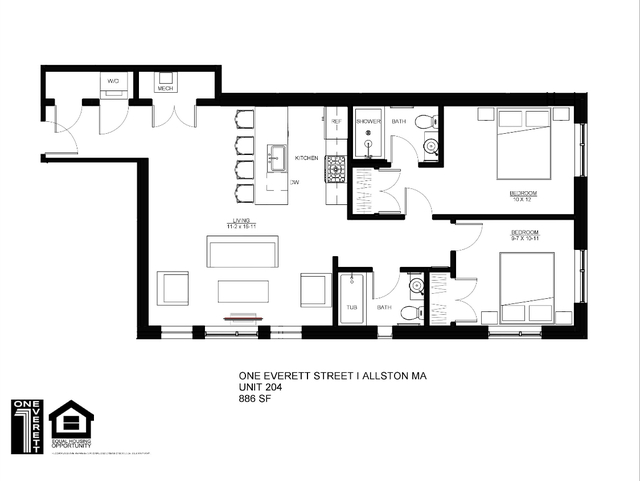 2 Bedrooms, Fields Corner East Rental in Boston, MA for $3,600 - Photo 1
