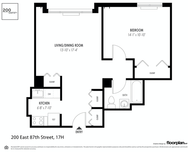 1 Bedroom, Yorkville Rental in NYC for $3,729 - Photo 2