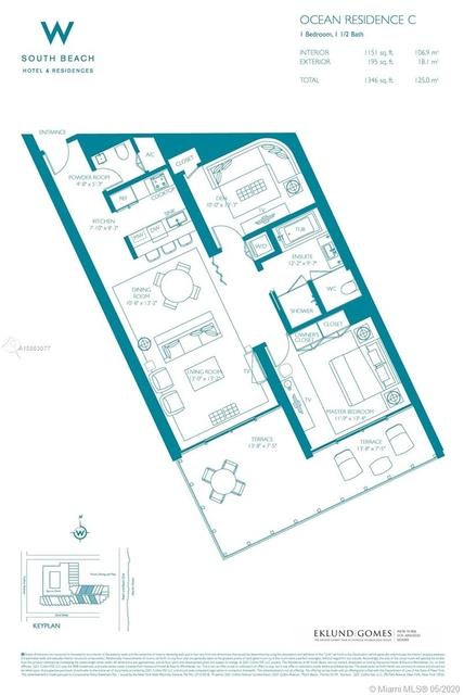 1 Bedroom, City Center Rental in Miami, FL for $12,000 - Photo 2