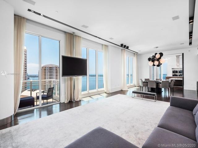 4 Bedrooms, Brickell Key Rental in Miami, FL for $13,500 - Photo 1
