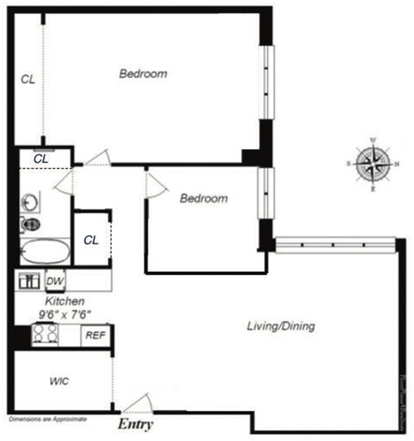 2 Bedrooms, Upper West Side Rental in NYC for $4,899 - Photo 2