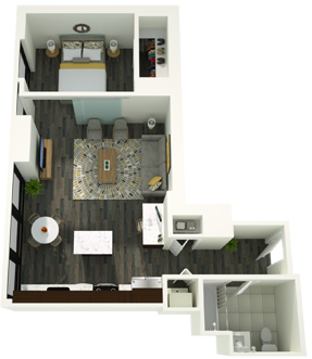 Studio, The Loop Rental in Chicago, IL for $2,358 - Photo 1