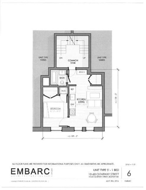 1 Bedroom, Fenway Rental in Boston, MA for $2,425 - Photo 1