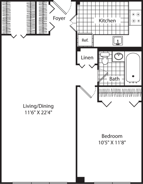1 Bedroom, Neighborhood Nine Rental in Boston, MA for $2,265 - Photo 1