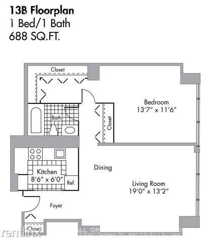 1 Bedroom, Gold Coast Rental in Chicago, IL for $1,945 - Photo 2