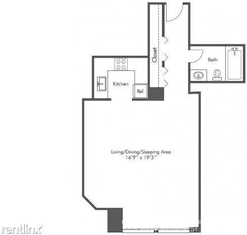 Studio, West Loop Rental in Chicago, IL for $1,380 - Photo 2