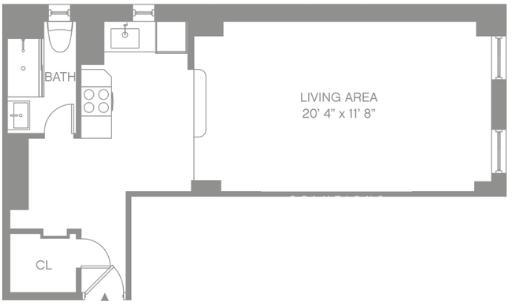 Studio, Morningside Heights Rental in NYC for $3,695 - Photo 2