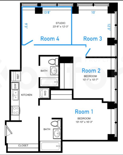 Room, Financial District Rental in NYC for $1,849 - Photo 2