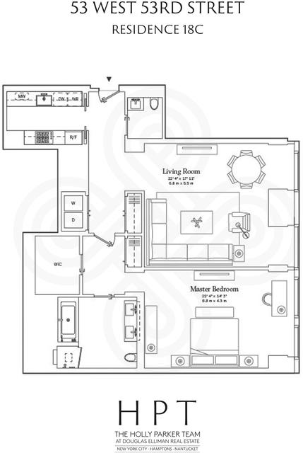 1 Bedroom, Midtown East Rental in NYC for $8,500 - Photo 2