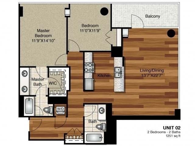 2 Bedrooms, Greektown Rental in Chicago, IL for $3,463 - Photo 1