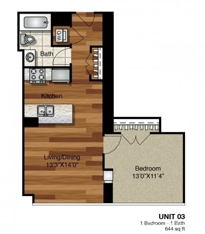 1 Bedroom, Greektown Rental in Chicago, IL for $2,647 - Photo 1