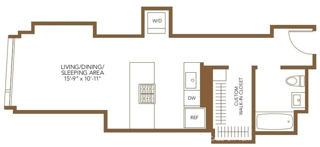 Studio, The Loop Rental in Chicago, IL for $1,983 - Photo 1
