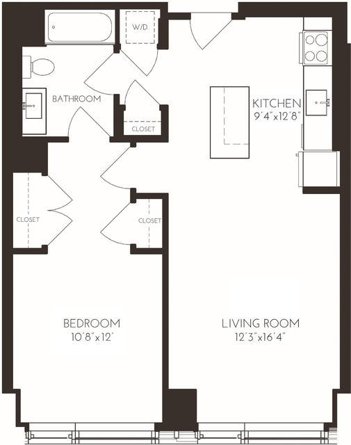 1 Bedroom, Seaport District Rental in Boston, MA for $4,375 - Photo 1