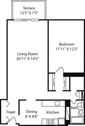 1 Bedroom, Downtown Boston Rental in Boston, MA for $2,835 - Photo 1