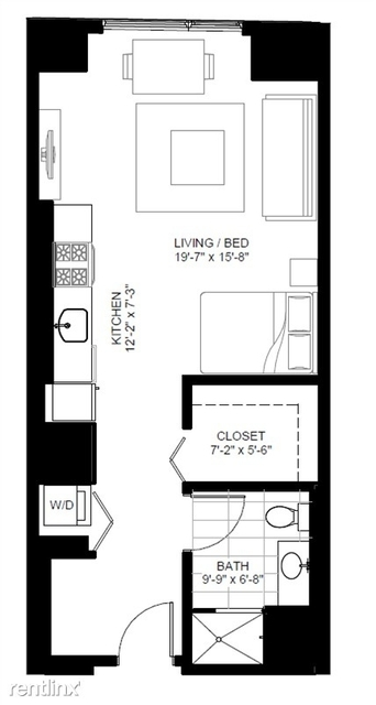 Studio, The Loop Rental in Chicago, IL for $2,063 - Photo 2