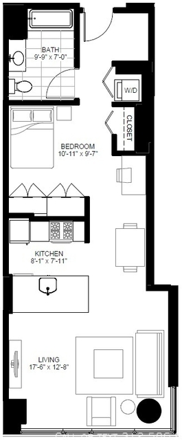 Studio, The Loop Rental in Chicago, IL for $2,222 - Photo 2