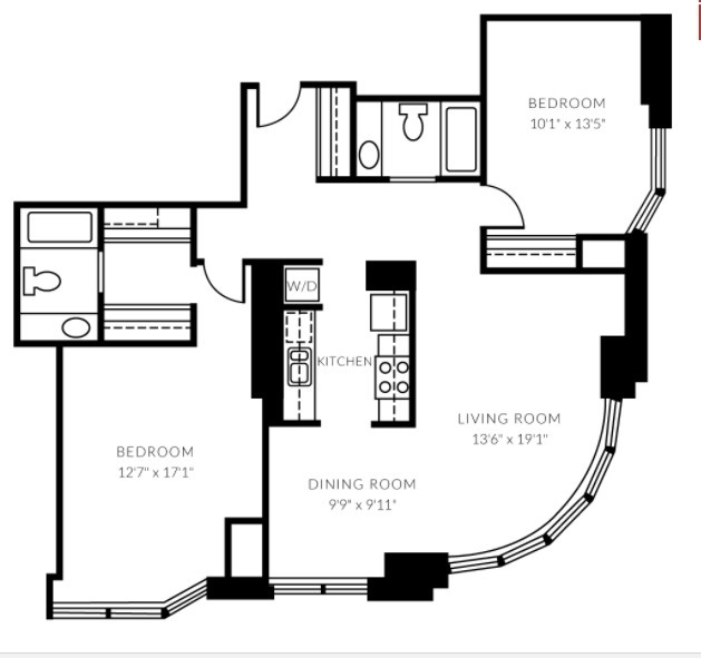 2 Bedrooms, Gold Coast Rental in Chicago, IL for $3,060 - Photo 1