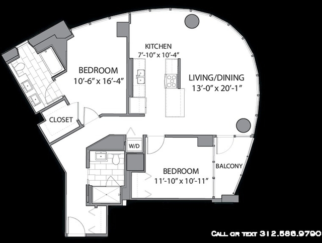 2 Bedrooms, River North Rental in Chicago, IL for $3,800 - Photo 1