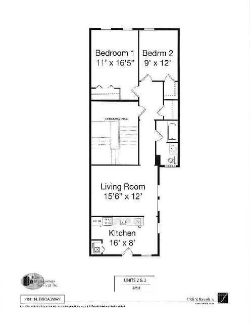 2 Bedrooms, Lake View East Rental in Chicago, IL for $1,810 - Photo 2
