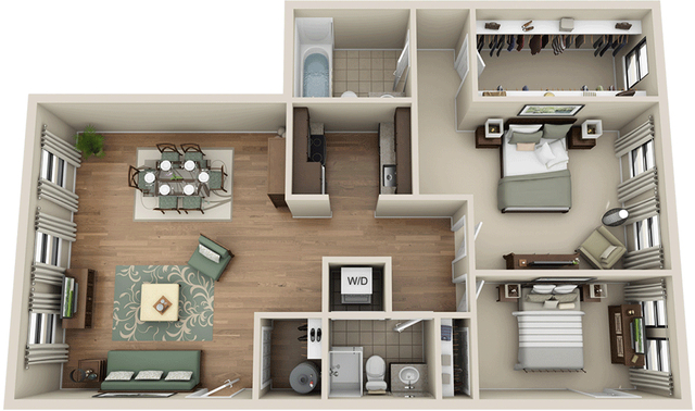 2 Bedrooms, Prudential - St. Botolph Rental in Boston, MA for $4,317 - Photo 1