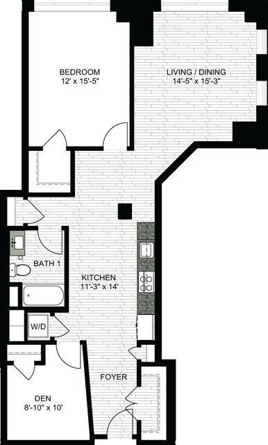 1 Bedroom, Downtown Boston Rental in Boston, MA for $3,255 - Photo 1