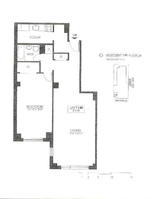 1 Bedroom, Gramercy Park Rental in NYC for $3,950 - Photo 2