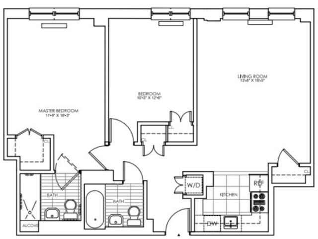 2 Bedrooms, Lincoln Square Rental in NYC for $5,950 - Photo 2