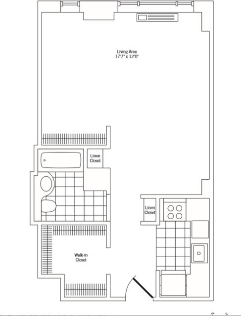 Studio, Rose Hill Rental in NYC for $3,095 - Photo 2