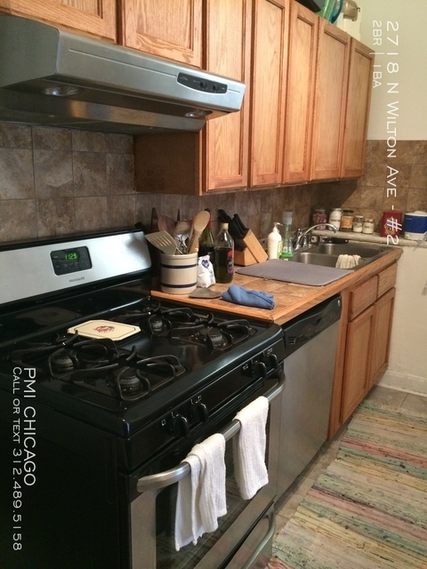 2 Bedrooms, Wrightwood Rental in Chicago, IL for $1,500 - Photo 2
