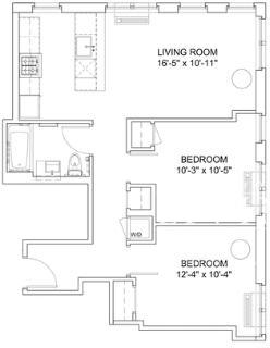 2 Bedrooms, Hell's Kitchen Rental in NYC for $4,146 - Photo 2