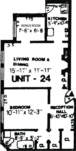 1 Bedroom, Neighborhood Nine Rental in Boston, MA for $2,350 - Photo 1