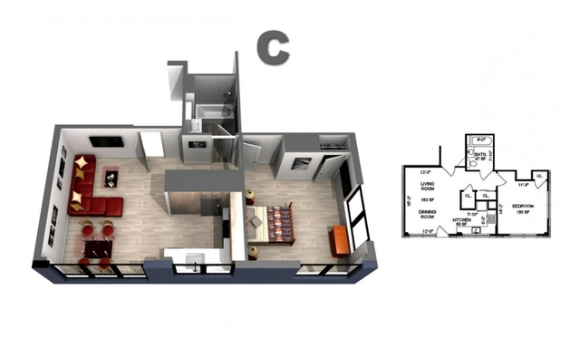 1 Bedroom, Central Harlem Rental in NYC for $2,979 - Photo 2