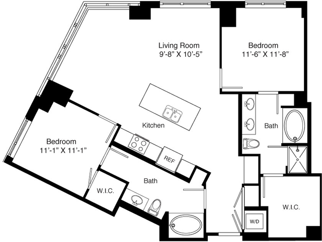 2 Bedrooms, Seaport District Rental in Boston, MA for $5,247 - Photo 2