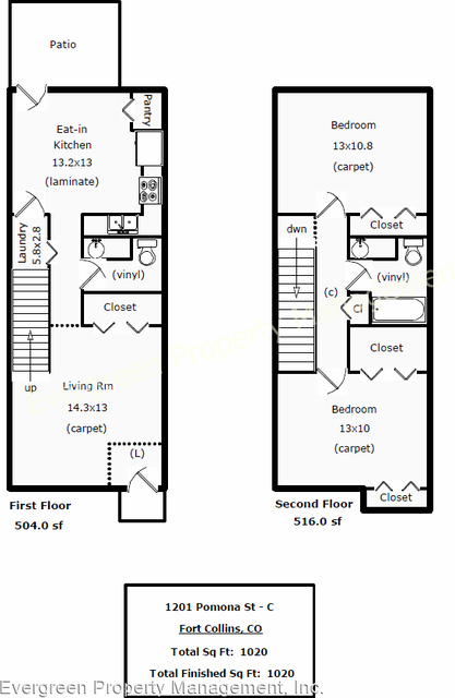 2 Bedrooms, Granada Heights Rental in Fort Collins, CO for $1,295 - Photo 2
