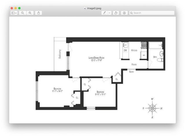 2 Bedrooms, NoLita Rental in NYC for $5,900 - Photo 2