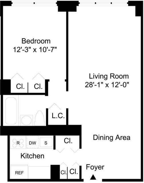 1 Bedroom, Yorkville Rental in NYC for $3,112 - Photo 2