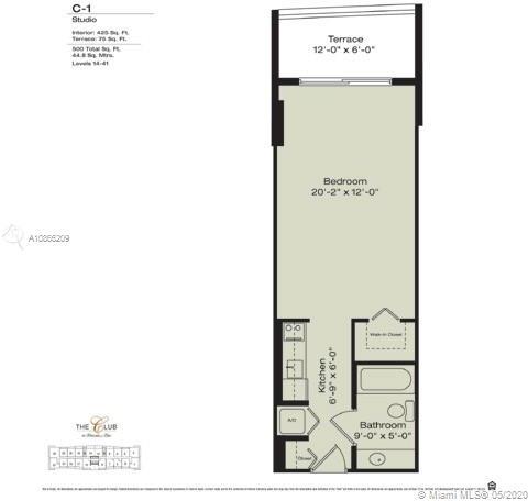 Studio, Miami Financial District Rental in Miami, FL for $1,499 - Photo 2