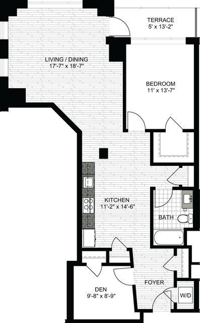 1 Bedroom, Downtown Boston Rental in Boston, MA for $3,450 - Photo 1