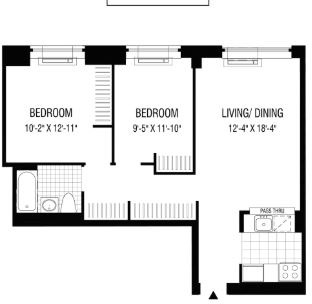 2 Bedrooms, Financial District Rental in NYC for $4,229 - Photo 2