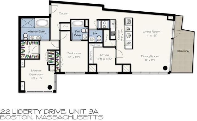2 Bedrooms, Seaport District Rental in Boston, MA for $13,800 - Photo 2