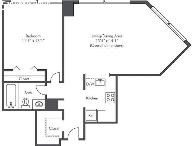 1 Bedroom, West Loop Rental in Chicago, IL for $1,635 - Photo 2
