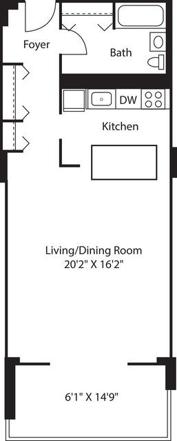 Studio, West End Rental in Boston, MA for $2,545 - Photo 2