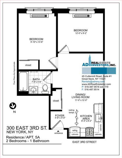 2 Bedrooms, Alphabet City Rental in NYC for $2,900 - Photo 2